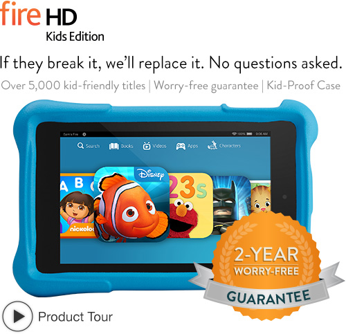 Monthly promos $30 discount on Fire HD 6 & HD7 Kids Edition Tablet