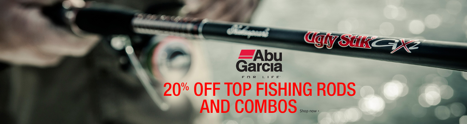 2017 spring promo on top fishing rods and combos