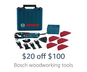 Extra off spring promo on Bosch tools