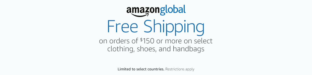 Free international shipping promo