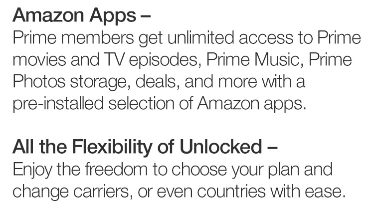 - off promo on Amazon Prime exclusive phones