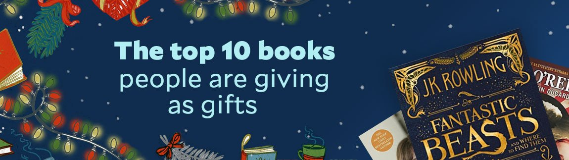 Top 10 books people are giving as gifts