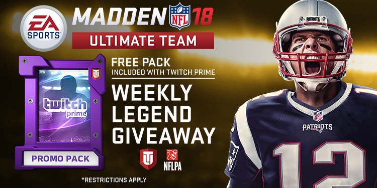 Weekly Legend Giveaway with Twitch